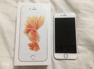 REPRICED iPhone 6s 64GB Rosegold PERFECT CONDITION
