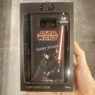 (包郵)🇰🇷Star Wars Slide Card Case 星球大戰黑武士卡手機殼