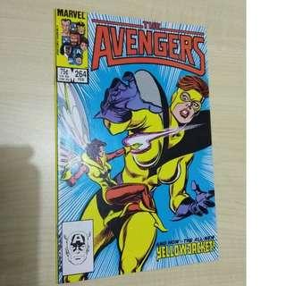 🚚 Avengers Vol. 1 #264 - 1st appearance of Yellowjacket II