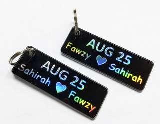 Keychain! Couple keychain available!