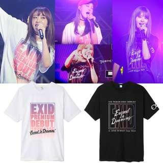 EXID Exceed in Dreaming in Japan Concert Tee