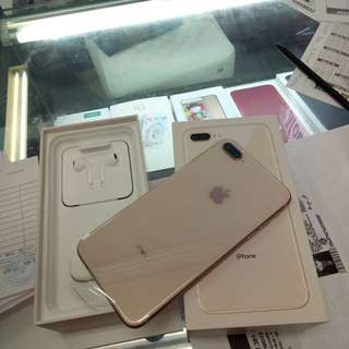 Kredit Iphone 8 Plus 256GB Gold New proses cepat