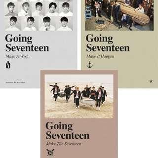 [PRE-ORDER] SEVENTEEN SVT GOING SEVENTEEN