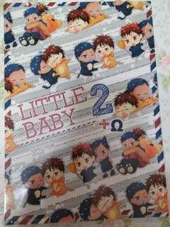 黑子的籃球青火同人誌《LITTLE BABY2》