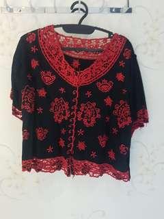 blouse brokat bali