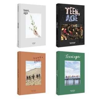 [PRE-ORDER] SEVENTEEN SVT TEEN AGE ALBUM