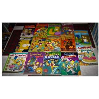 Various Simpsons Comics