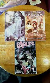 English comics high quality fables comics