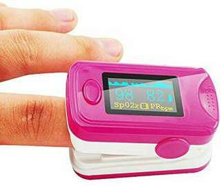 LED Health Fingertip Pulse Oximeter Blood Oxygen PR Finger Meter SpO2 saturation