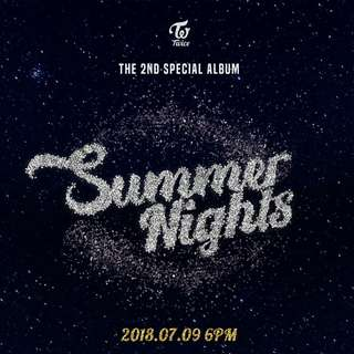 TWICE 2ND SPECIAL ALBUM SUMMER NIGHTS