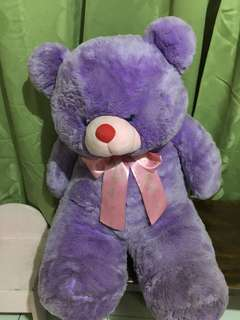blue magic life size teddy bear 3ft