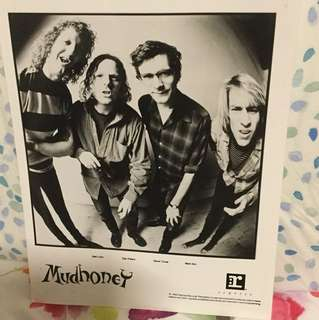 Mudhoney - original promo photo - grunge era collectable
