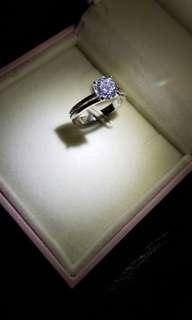 火鑽石戒指(圈囗12)