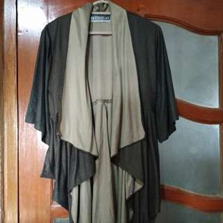 Long Outer Brown mix Cream