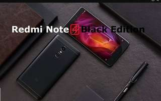 Xiaomi Redmi Note 4, 3G RAM 32G ROM Black Global Version