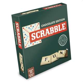 Scrabble Chocolate Edition