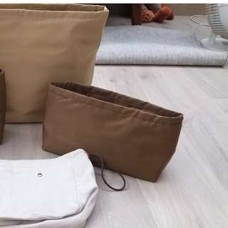 bag in bag 內袋 袋中袋 現貨 KELLY 28 BROWN $248  Garden party 36 粉紅 $268  順風到付