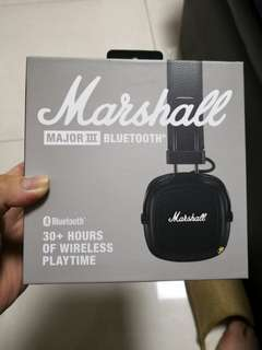 Marshall Major 3 Headphone