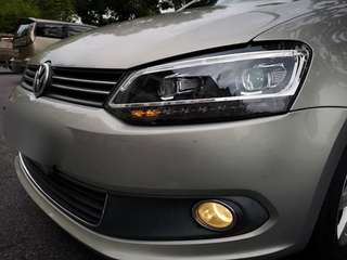 VOLKSWAGEN POLO SEQUENTIAL LED HEADLIGHTS