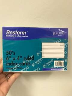 #buy1get1free Besform index cards
