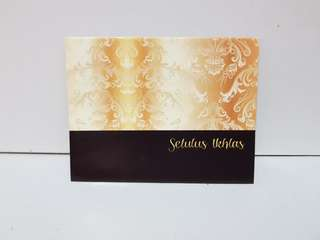 Hari raya money envelope packet duit raya sampul