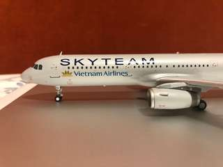 Skyteam Vietnam airlines A321 1/200 model