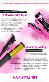 360 rotating hair curled (korea)