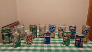 Soft Drinks Cans Collectibles