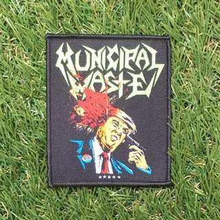 Municipal Waste (Trump Walls of Death) Patch