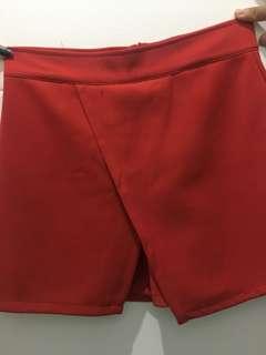 skirt merah