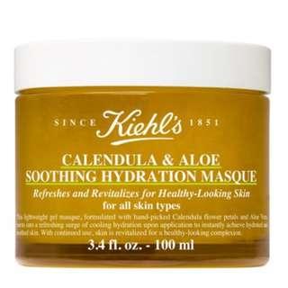 Kiehl's Calendula & Aloe Soothing Hydration Mask, 100ml