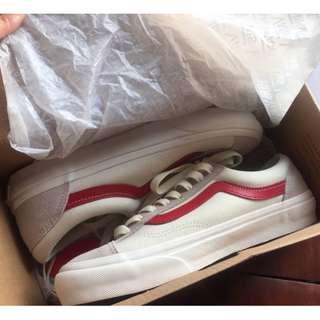 Vans GD 權志龍同款 紅白鞋