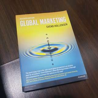 Global Marketing Seventh Edition