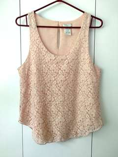 Price drop Talula Lace Top - small