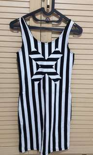 Dress Stripes. (Divison by HnM). NEW. Size S.