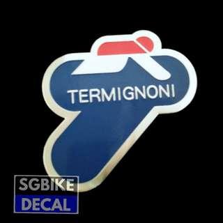 Terminogni Exhaust Emblem