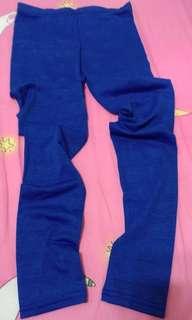 🚚 寶藍色 九分褲 內搭褲