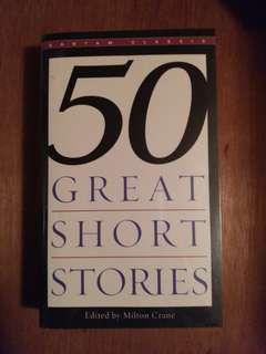 英文小說 50 Great Short Stories