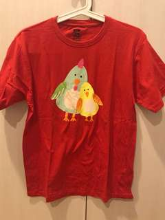 Chicken T size kids XXL