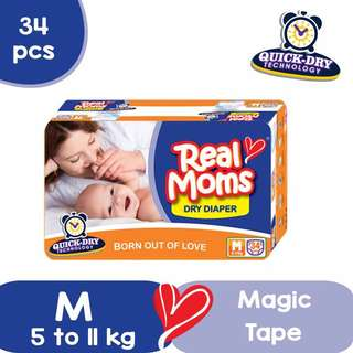 Real Moms Dry Diaper (Disposable)