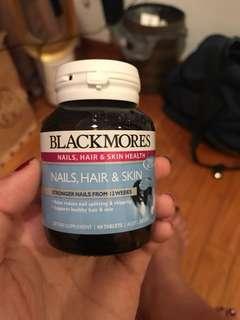 60 Tablets Blackmores Nails Hair & Skin