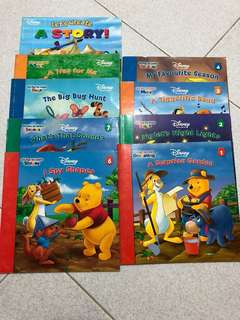 🚚 Disney - Winnie the Pooh it's Fun to Learn series children English
