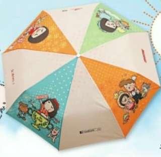全新Chocolate rain伸縮雨傘(限量版)