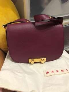 Marni Leather Shoulder Bag 斜孭/側孭袋