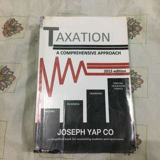 COMPREHENSIVE TAXATION BOOK