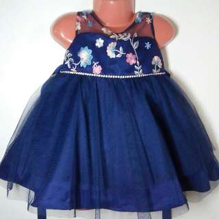 Navy blue Rare Editions dress