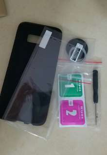 Samsung S8 Hard Case with Screen Guard (Brand NEW)