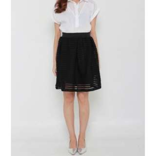 MF0002: Ballerine Pleated Mini Skirt