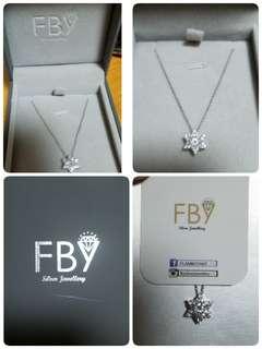 FBYsilver jewellery防敏感頸鏈
