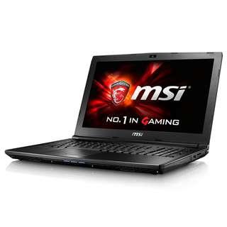 GL62M 7REX (GL62MX1896) i7-7700HQ / 8GB DDR4 / GTX1050TI 4GB GDDR5 / 128GB NVMe SSD / 1TB HDD / 15.6″ FHD eDP 94% NTSC